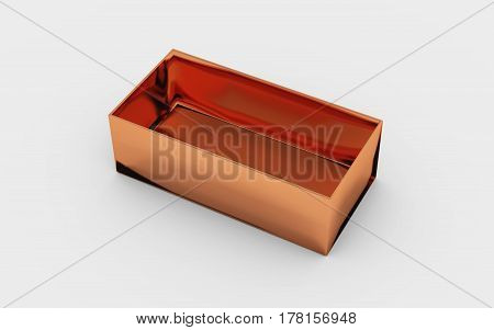 Copper Box Tray View