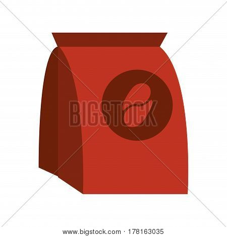 coffee pack paper image vector illustration eps 10