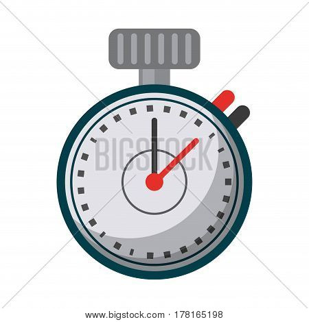 chronometer time sport tool vector illustration eps 10