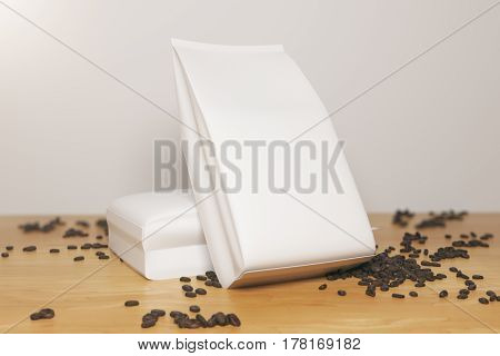 White Coffee Packages