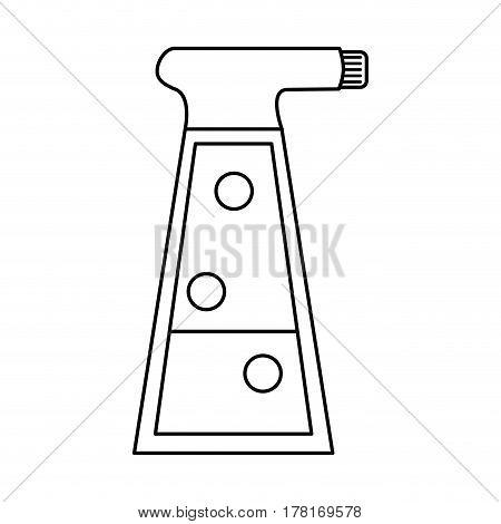 sprayer bottle gardening thin line vector illustration eps