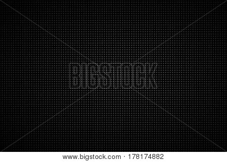 Geometric background abstract black metallic wallpaper vector illustration