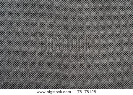 Gray suede cloth texture as background high resolution photo