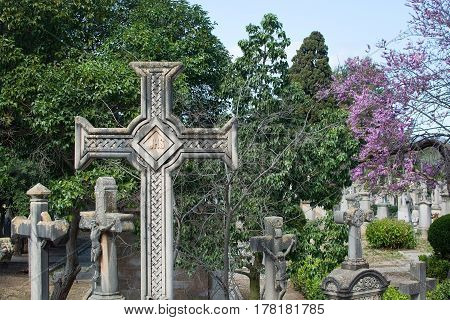 Palma Cemetery Crosses