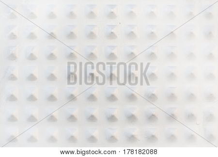 Metal Pyramid Knobs Texture