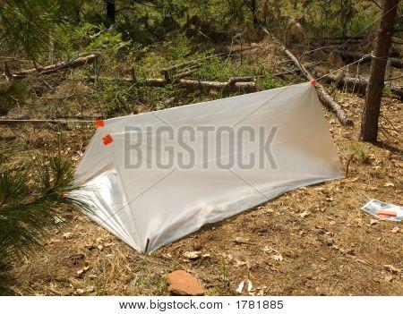 Temporary Survival Shelter