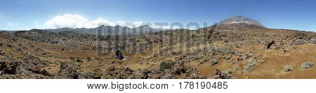 Mountain Landscape Panorama