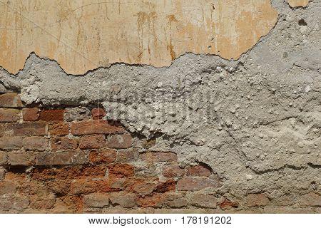Part Of Brick Wall