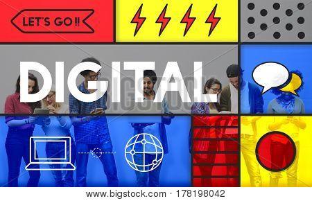 Digital Media Community Computer Technology