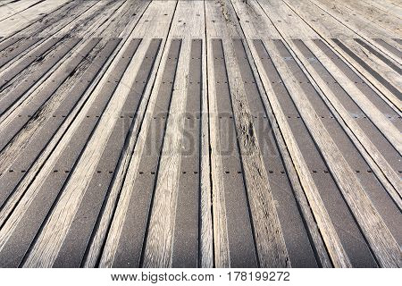 wall gray old vintage wooden background with perspective
