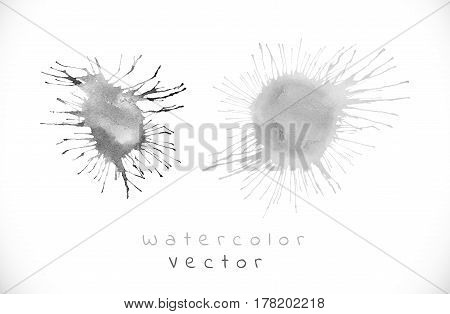 Black Vector Splash