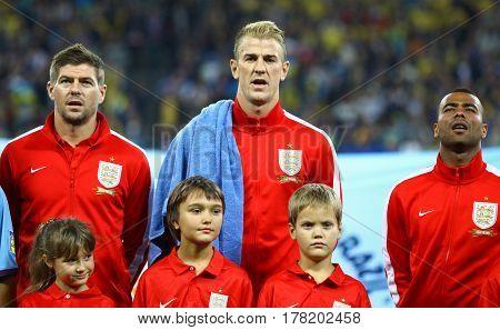 Fifa World Cup 2014 Qualifier Game Ukraine V England