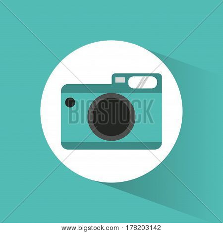 photographic camera picture vacations vector illustration eps 10