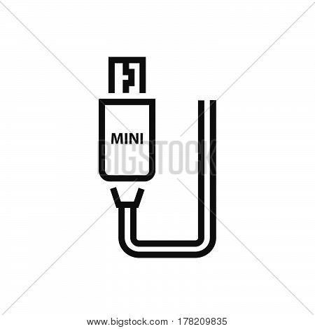 Mini HDMI Adapter Line icon vector design support file eps10.