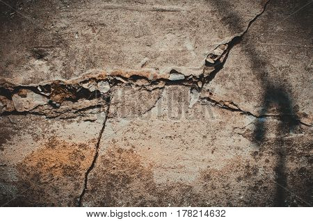 The Crack In The Concrete Wall, Background.