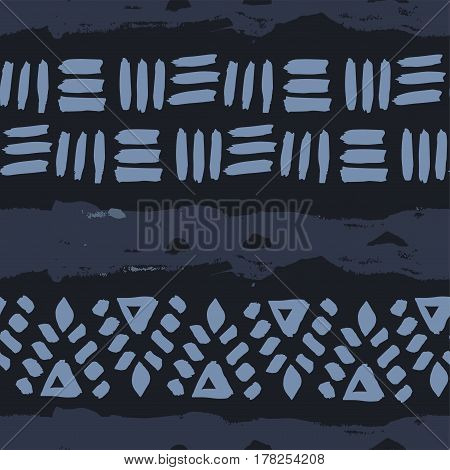 Abstract Simple Vector Ethnic Seamless Pattern Texture