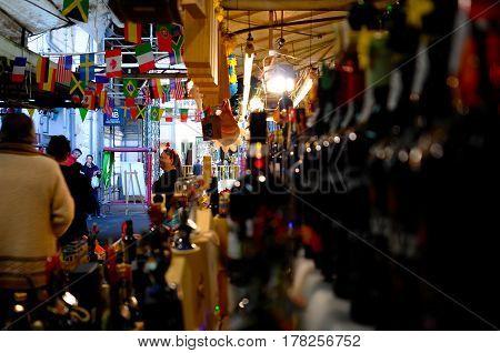 February 21, 2017, Porto, Portugal - Bolhao market