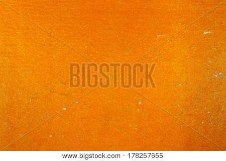 Old orange paper texture with fading. Abstract background