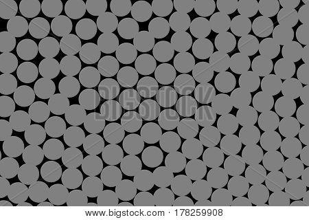 Circles Backgrounds And Irregular Texture For Futuristic Design