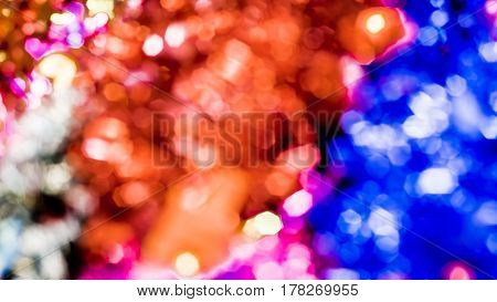 Abstract colorful shimmer bokeh blur background.,use for background