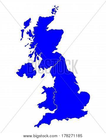 Map Of United Kingdom