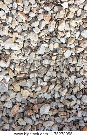 Background Stones On The Ground