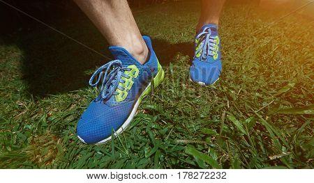 Modern Run Blue Shoes