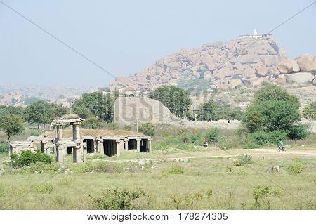 Royal Fort Of Zenana Enclosure
