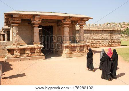 Hazara Rama Temple At Hampi