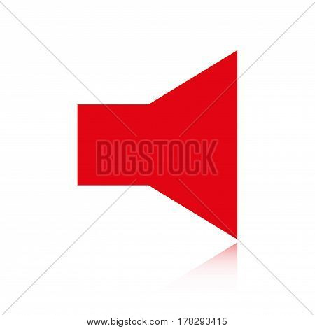 volume icon stock vector illustration flat design
