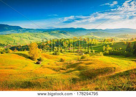 Carpathians Village Hills