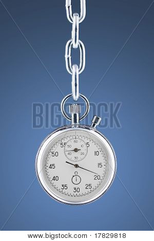 Stopwatch On A Chain