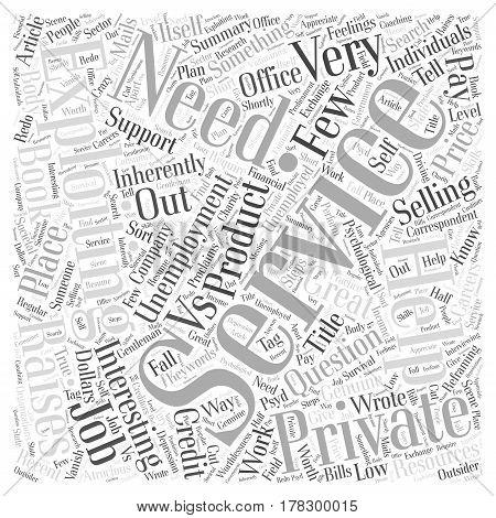 Genuine Help Vs Exploitation Word Cloud Concept poster