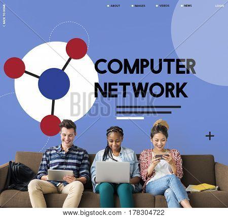 Computer network online digital technology