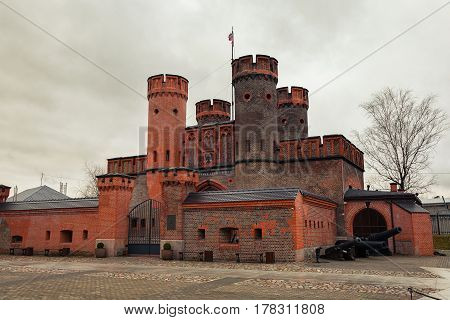 Fortress Friedrichsburg. Old German Fort in Koenigsberg. Kaliningrad (until 1946 Koenigsberg), Russia