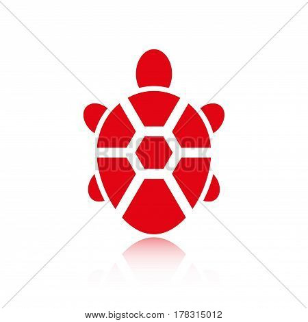 turtle icon stock vector illustration flat design