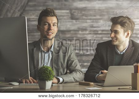 Two Guys In Office