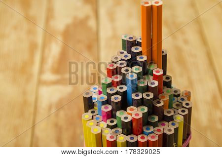 Pencil Rod Close-up