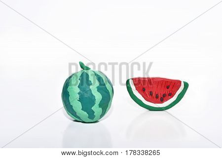 Fruits From Plasticine.