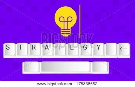 Light Bulb Creativity Ideas Attitude Vision Strategy