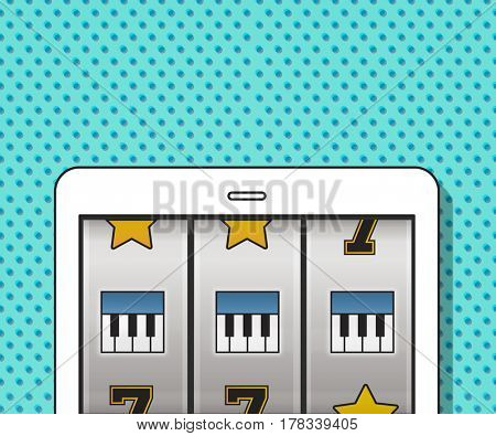 Slot Machine Game Music Symbols
