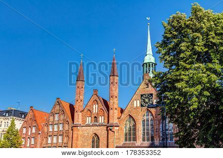 Hospital of the Holy Spirit in the Hanseatic City of Lubeck