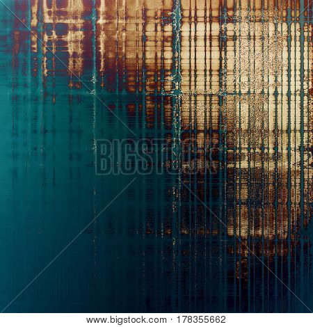 Highly detailed grunge background or scratched vintage texture. With different color patterns: yellow (beige); brown; blue; gray; purple (violet)