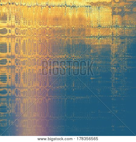 Retro design composition, grunge background or textured backdrop. With different color patterns: yellow (beige); brown; blue; red (orange); pink