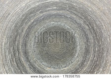Tool in the carpentry workshop: electric grinding wheel.
