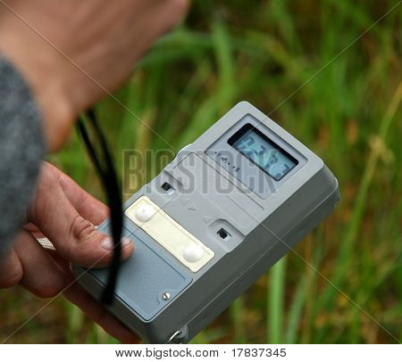Measuring Radiation Level