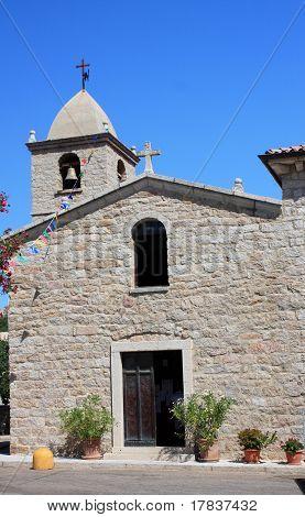 Country Church In San Pantaleo, Sardinia