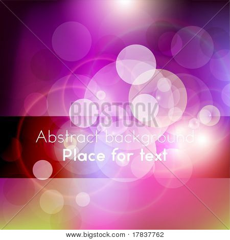 Colorful abstract digital background. Vector