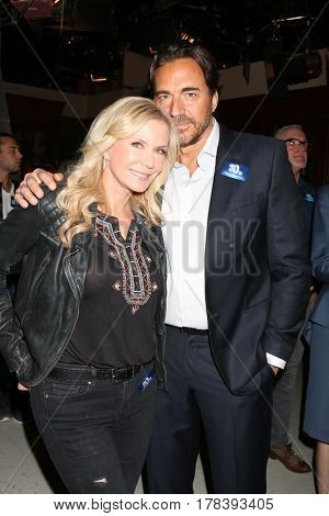 LOS ANGELES - MAR 23:  Katherine Kelly Lang, Thorsten Kaye at the celebration of 30 Years of Bold and Beautiful and their 23 Emmy nominations at CBS on March 23, 2017 in Los Angeles, CA