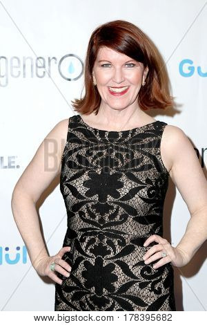 LOS ANGELES - MAR 21:  Kate Flannery at the Generosity.org Fundraiser For World Water Day at the Montage Hotel on March 21, 2017 in Beverly Hills, CA